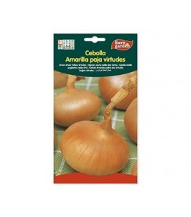 Semillas de Cebolla Amarilla Paja Virtudes 5 g de Eurogarden
