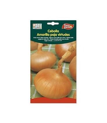 Cebolla Amarilla Paja Virtudes, 5 gr de Eurogarden