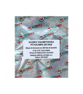 Feronoma de Thametopoea Pitycampa de Econex