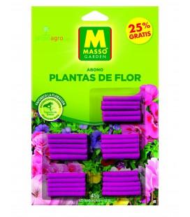 Bastoncitos fertilizantes plantas de flor 25 g Masso